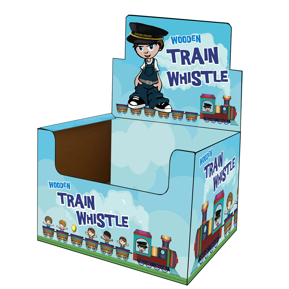 Wooden Train Whistle | Emblem Print Products