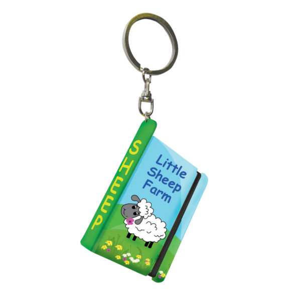 Sheep-Notebook-Keyring