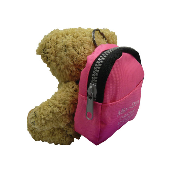 5inch Korky with rucksack