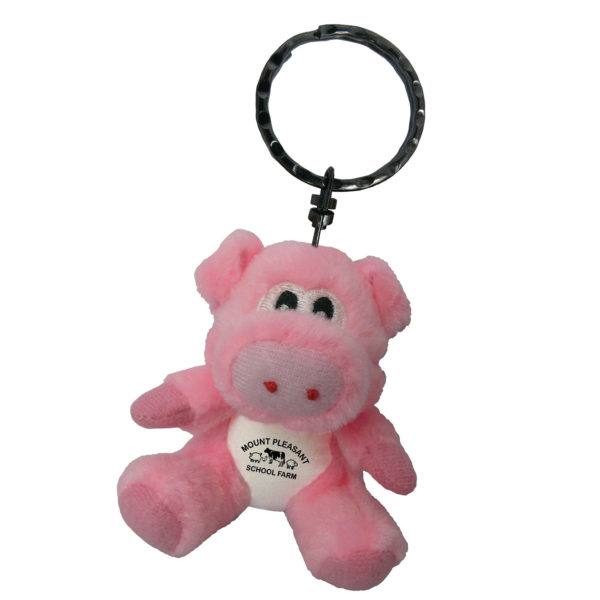 Pig-Soft-Toy-Keyring