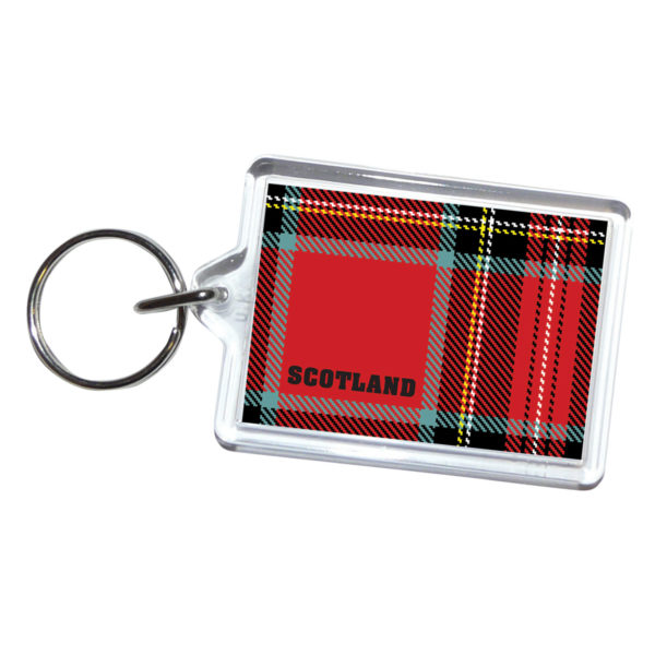 Scottish Acrylic Keyring