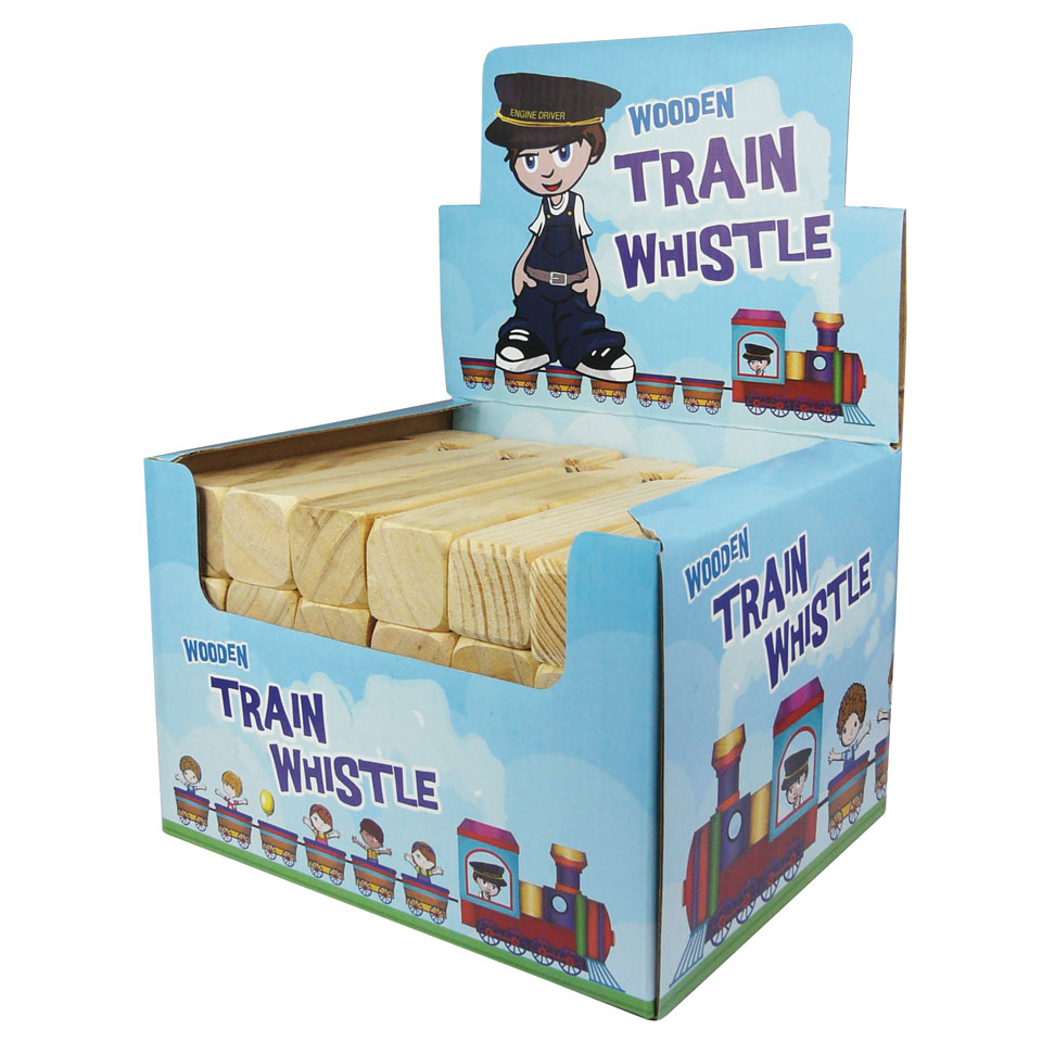 Wooden Train Whistle   Emblem Print Products