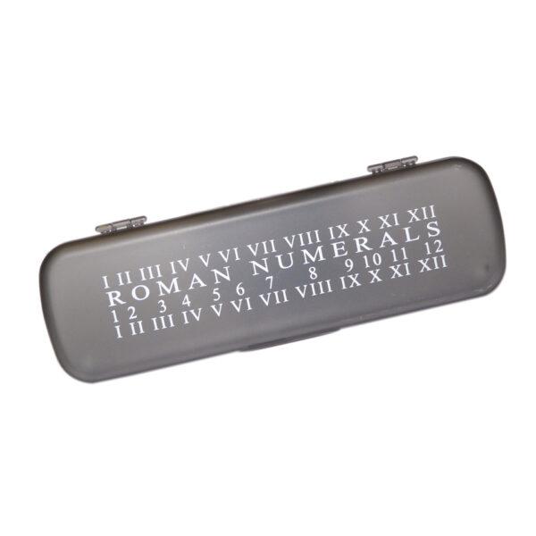 Roman Numeral Pencil Case