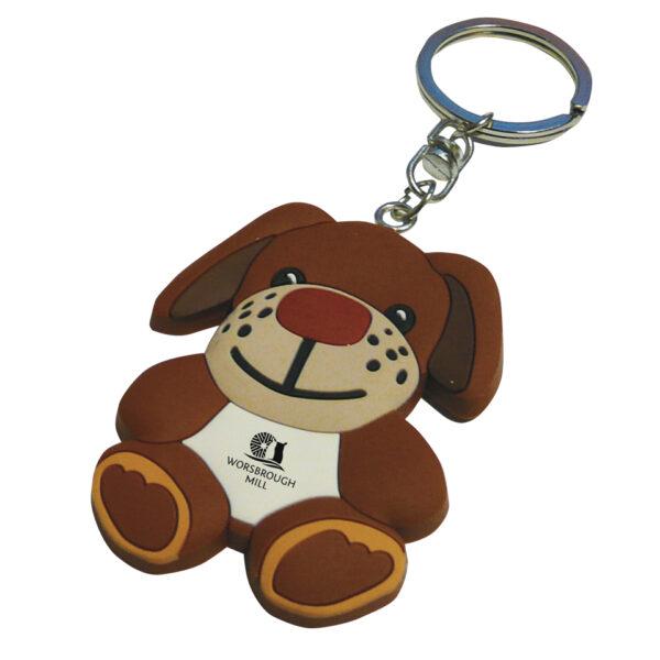 PVC-Keyring-Dog