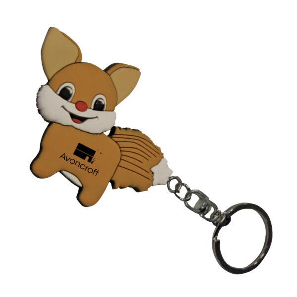 PVC-Keyring-Fox