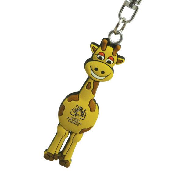 PVC-Keyring-Giraffe