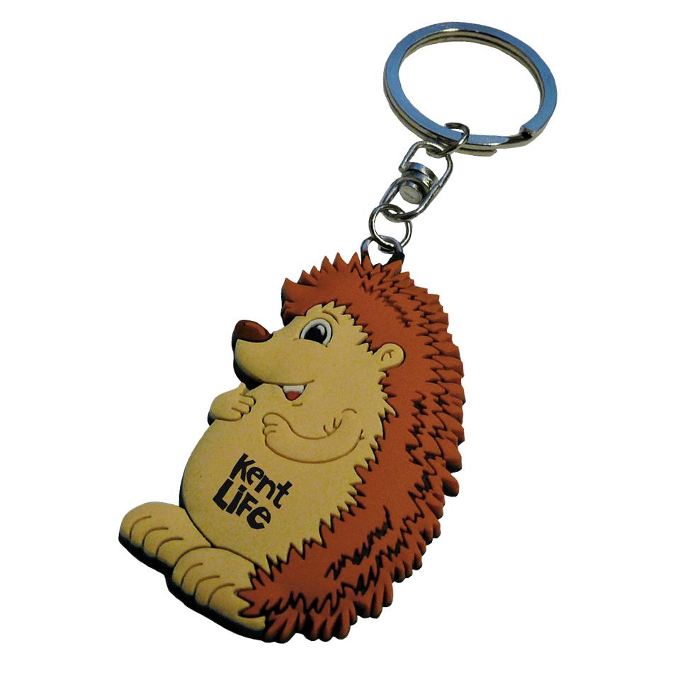 PVC-Keyring-Hedgehog