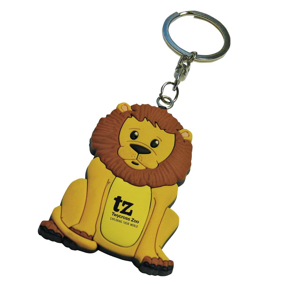 PVC-Keyring-Lion