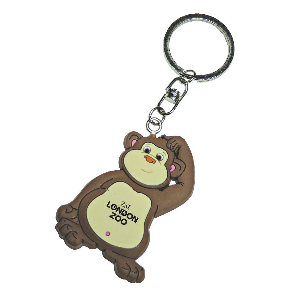 PVC-Keyring-Monkey