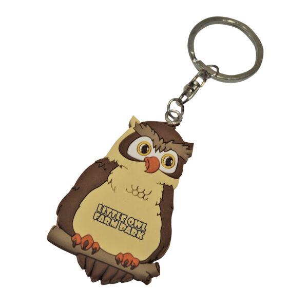 PVC-Keyring-Owl