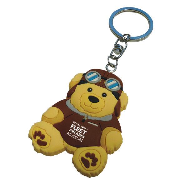PVC-Keyring-Pilot-Teddy