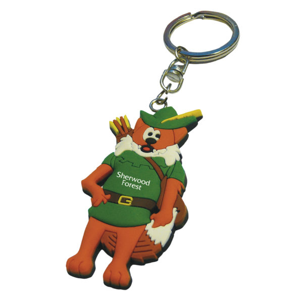 PVC-Keyring-Sherwood-Forest-Fox