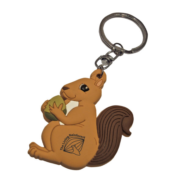 PVC-Keyring-Squirrel