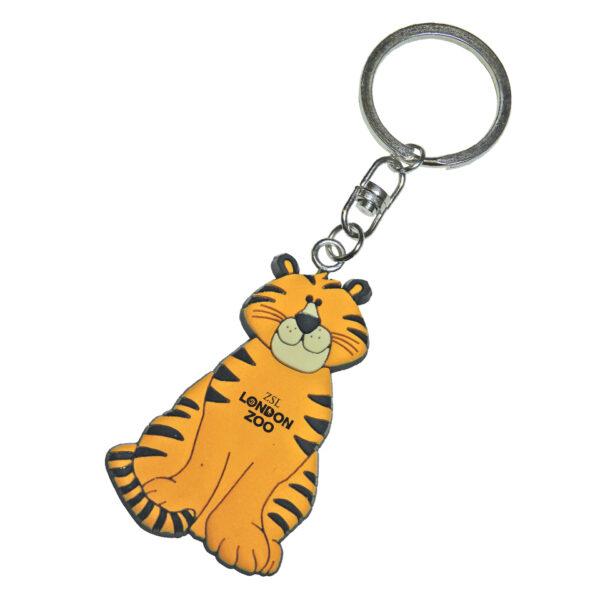 PVC-Keyring-Tiger