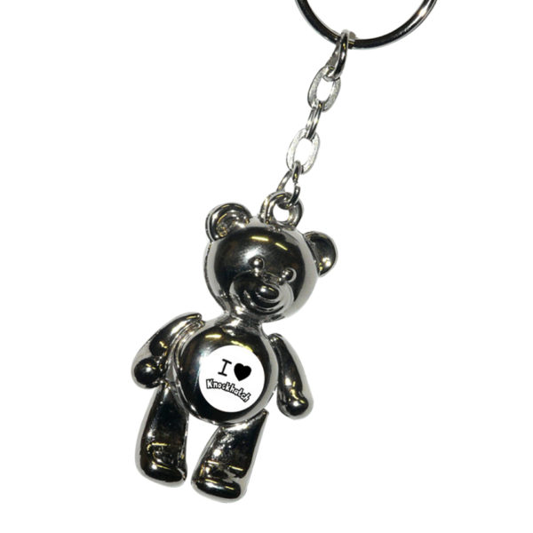 Metal-Teddy-Keyring