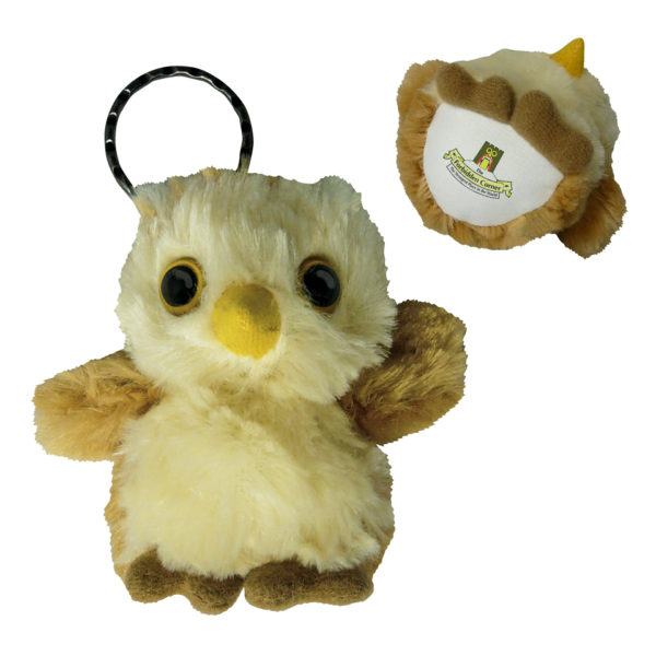 Soft-Toy-Owl-Keyring